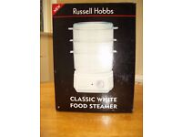 Russell Hobbs Classic White Food Steamer