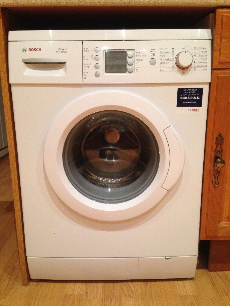 bosch maxx 7 varioperfect washing machine 7kg load 1200 spin in redruth cornwall gumtree. Black Bedroom Furniture Sets. Home Design Ideas