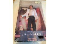 Michael Jackson rare singing doll ,Black or White