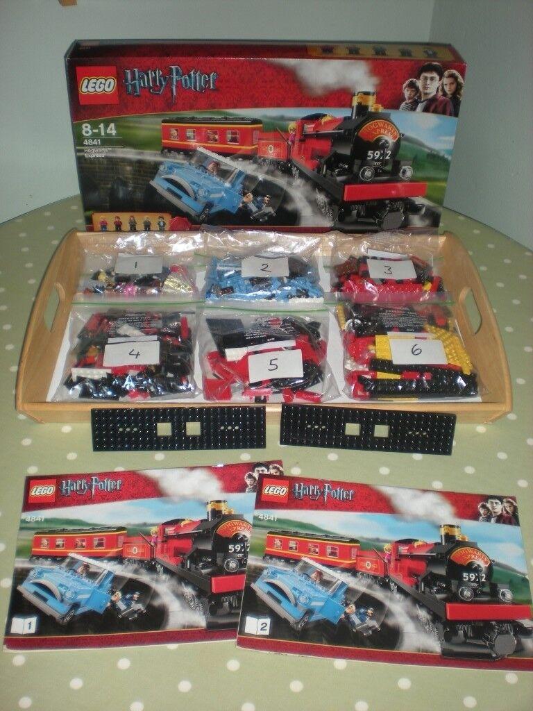 Lego Harry Potter Hogwarts Express Set Number 4841 In