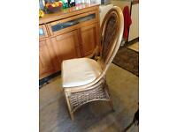 4 Wicker Conservatory Chairs