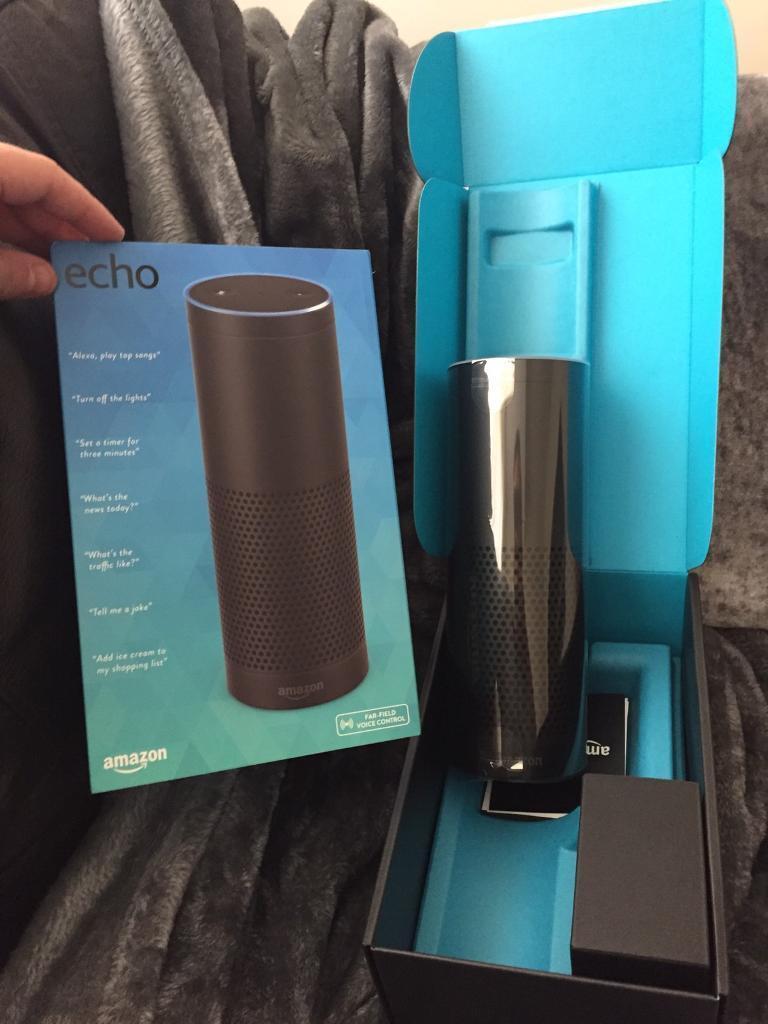 Brand new amazon echo , Never used ! Quick sale £60 c