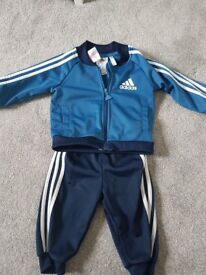 3-6 Months boys adidas tracksuit