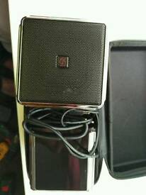 Sound science media speakers in excellent condition
