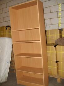 wardrobe bookshelf £40, bed side table £10 new heater £40 chest draw 30 pounds book shelf from £20
