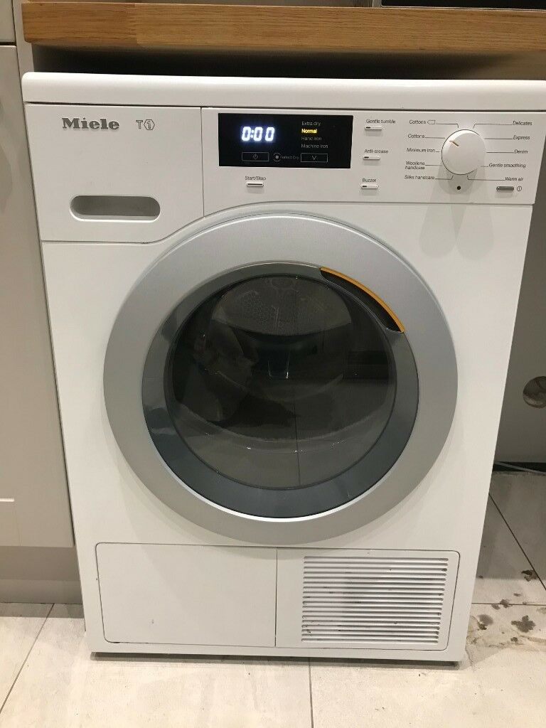 Miele T1 Tumble Dryer - TKB440WP Heat Pump Tumble Dryer, 8kg Load, A+  Energy Rating, ChromeEdition | in Bishops Stortford, Hertfordshire | Gumtree