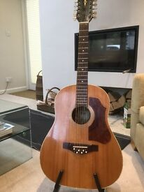 Hofner vintage 12 string guitar, late fifties-early sixties.
