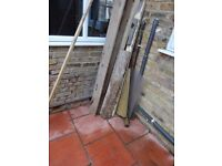 Free timber few joist about 4 meters long and some hard core buyer n22 7ex