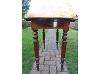 Antique pembroke mahogany table