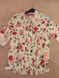 Maternity next blouse formal smart evening