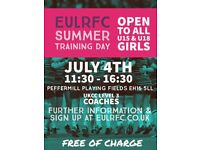 Free Girls Rugby 1 Day Summer Kids Camp - All abilities welcomed!