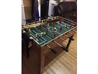Mini Football table including pool & air table for very good deal
