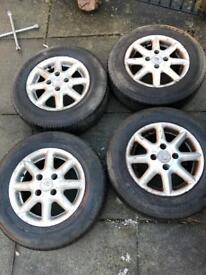13 inch Volkswagen VW alloy wheels