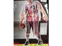 Adult Male Halloween Costume - Zombie Footballer