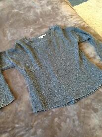 Cosy grey Boden jumper, size 12