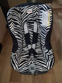 CAR SEAT BRITAX 2 IN 1 0-18 KG - £50 ONLY