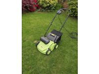 +Garden Lawn Rake and Scarifier