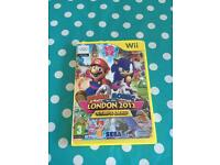 Mario & Sonic Wii game