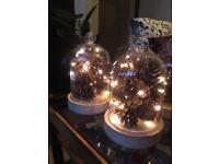 Centre pieces bell jars
