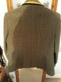 Joules fitted tweed blazer