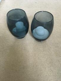 Marks and Spencer's candle holders