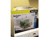25L Fish tank suitable for tropics and cold water fish!