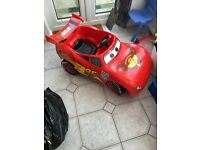 Lightening McQueen electric ride on children's car