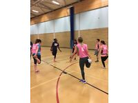 Back to Netball at the White Horse Lesiure and Tennis Centre, Abingdon