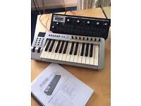 MOOG SLIM PHATTY WITH EVOLUTION MIDI KEYBOARD & CABLES