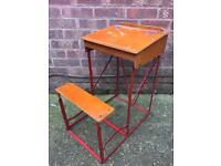 Vintage Children's School Writing Foldable Desk - Delivery Available