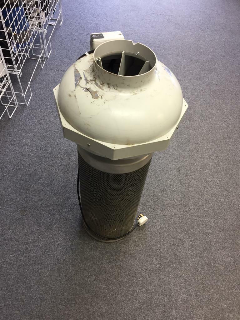 """Hydroponics 6""""/150mm Fan-Filter Kit , RVK Air Flow"""