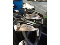 Used Titleist 718 TMB 3 & 4 Irons, Project X 6.0 Shafts