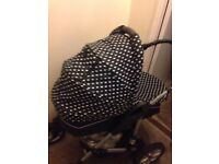 3in1 mamas and papas pram pushchair with carry cot