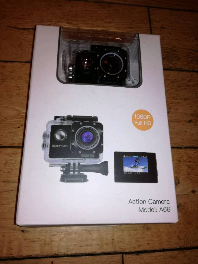 Brand New Sports Action Camera Apeman A66