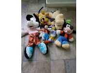 Disney pictures Donald and Daisy Duck and miki mouse soft toys