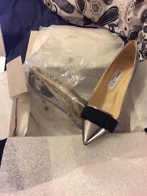 Brand new Daydel Jimmy Choo Heels - Silver Size 40 / 6.5 - 7