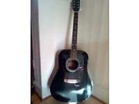 WESTVILLE ACOUSTIC GUITAR in good condition
