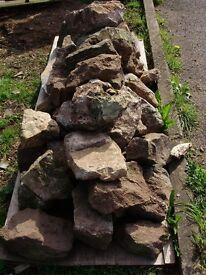 Rockery stone 40+ various sizes