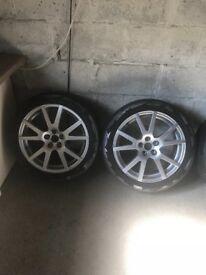 "17"" Skoda RS Alloys wheels"