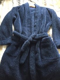 BOYS' SOFT FEEL DRESSING GOWN FROM M & S - AGE 11 YRS- £5