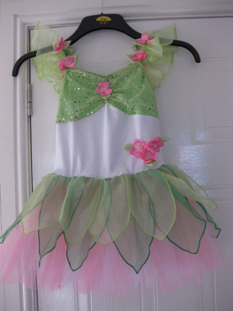 FLOWER FAIRY DRESS with fitted bodice WORN TWICE bought for dance show35 Age 6 9 BEAUTIFUL REDUCEDin Rumney, CardiffGumtree - I have a beautiful FLOWER FAIRY DRESS for sale it has really pretty colours & design like Tinkerbell but unique! It has a very flouncy net skirt & a built in bodice so much more discreet for play / parties etc (like a leotard fitting) It was bought...