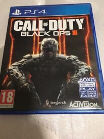 Call Of Duty Black Ops 3 PS4!!!