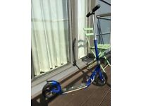 Micro Flex Deluxe Scooter - Blue, in good working condition