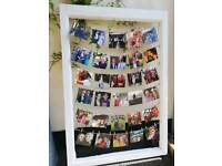 Wedding decor - photo hanger
