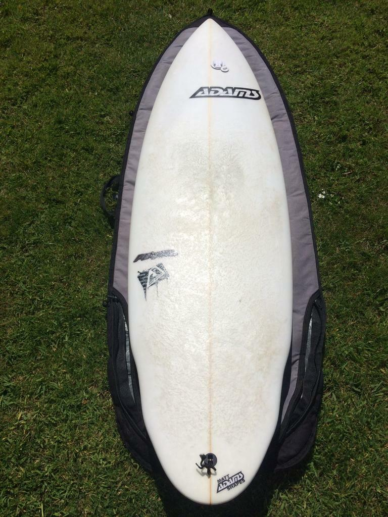 79798a8b71 Surfboard and bag | in Bodmin, Cornwall | Gumtree