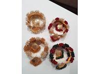 Kangan /bracelet/choori With Matching Earrings/studs