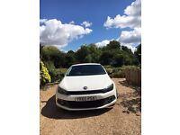 Volkswagen SCIROCCO 2.0 GT Tdi Coupe White with, Xenon number plate lights, Black alloys