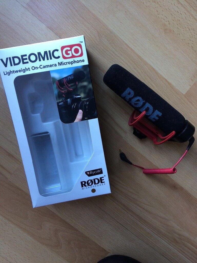 Rode VideoMic Go - excellent condition