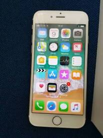 Iphone 6s Gold.Reduced. Great condition O2 Tesco