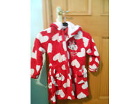 Disney Minnie Mouse Dressing Gown 6-7yrs